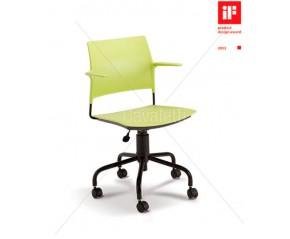 Cavaletti Go - Cadeira Giratória 34003 Basic com braços