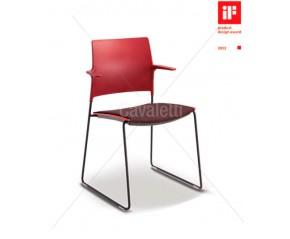 Cavaletti Go - Cadeira Aproximação 34006 Soft com braços