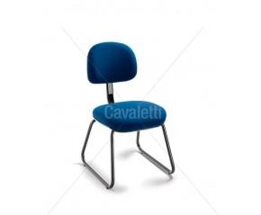 Cavaletti Start - Cadeira Secretária Aproximação 4008 A cromada